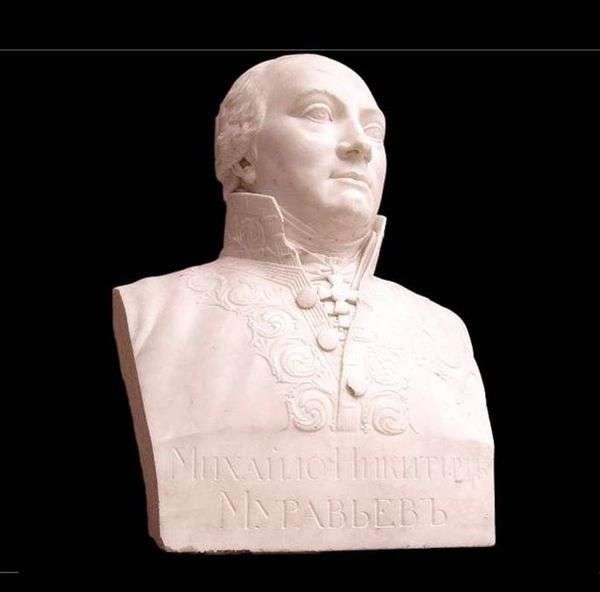 Bust M. N. Muravyev   V. I. Demut Malinovsky