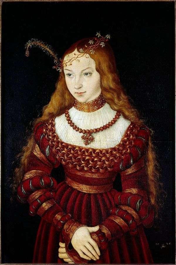 西比拉公主Klevskaya   Lukas Cranach