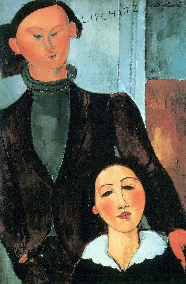 Jacques Lipschitz和他的妻子Berta   Amedeo Modigliani