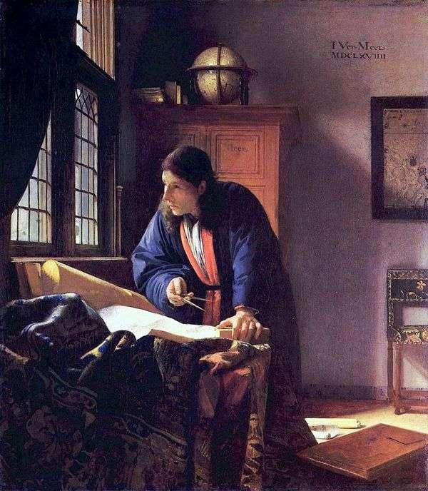 地理学家   Jan Vermeer