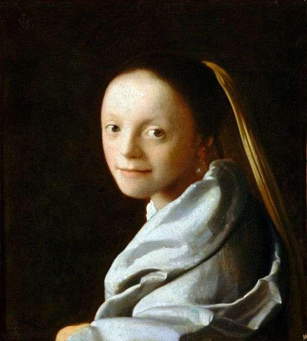 女孩的头   Jan Vermeer