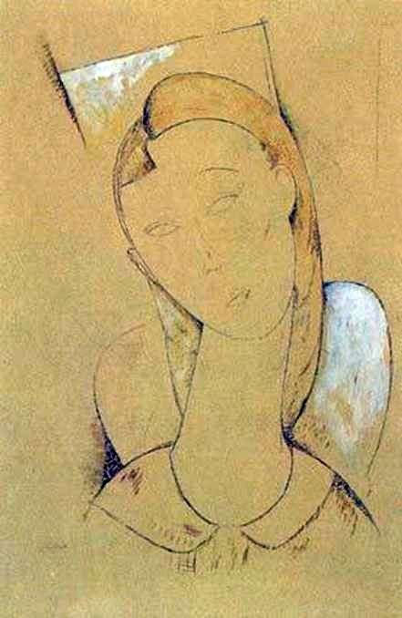 Caryatid   Amedeo Modigliani