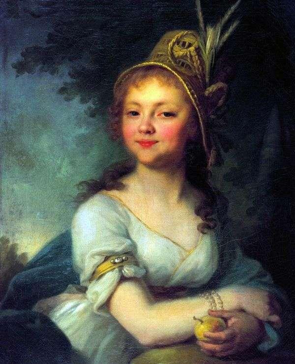 E. N. Arsenyeva   弗拉基米尔Borovikovsky的肖像