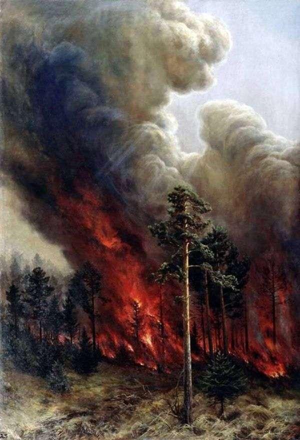 森林大火   阿列克谢杰尼索夫   乌拉尔斯基