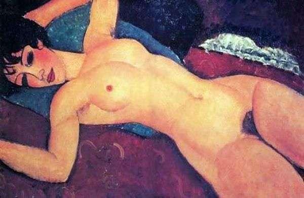 斜倚的裸体   Amedeo Modigliani