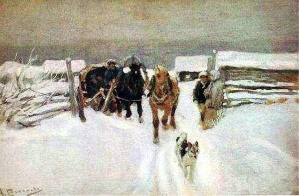 冬天   阿列克谢斯捷潘诺夫
