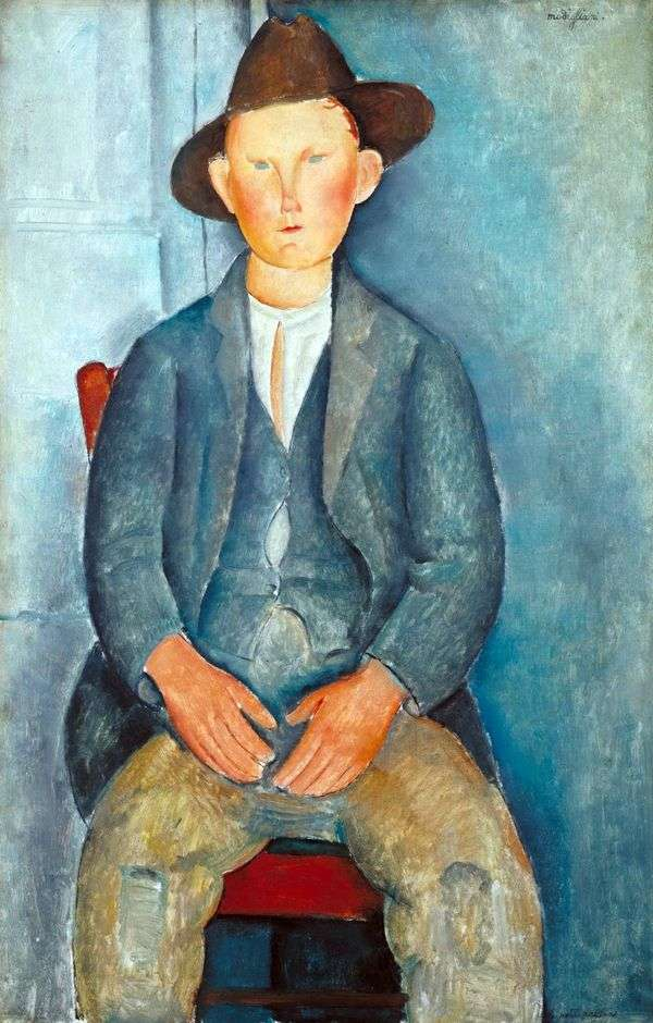 小农民   Amedeo Modigliani