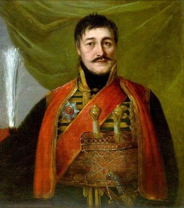 Karageorgiya   弗拉基米尔Borovikovsky画象