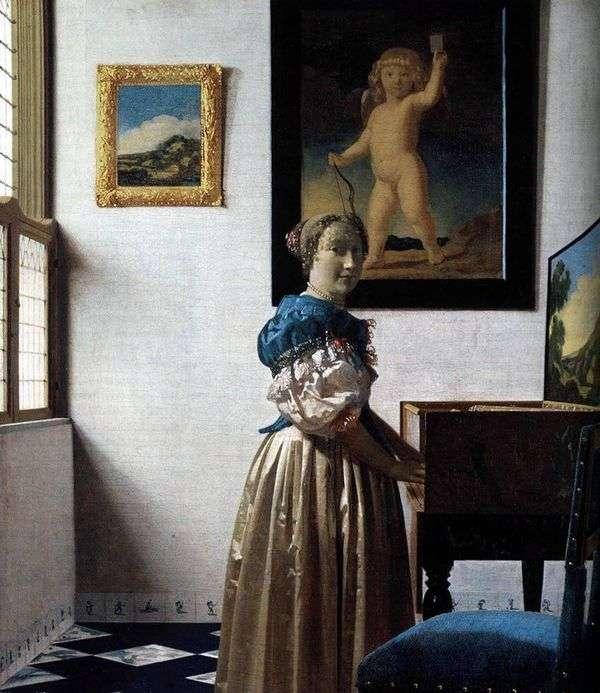 弗吉尼亚夫人   Jan Vermeer
