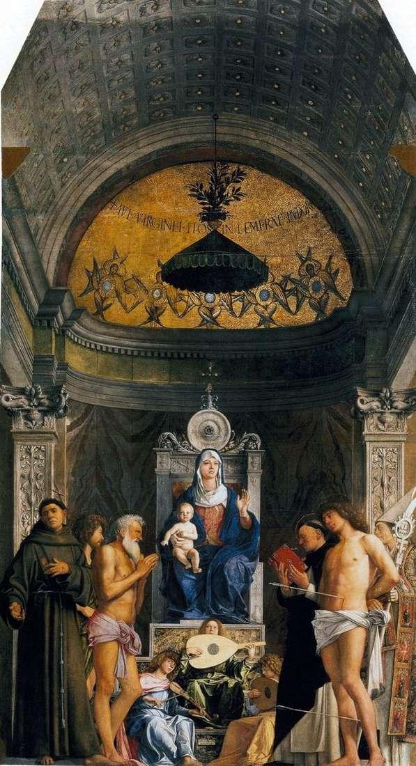 麦当娜与圣徒   圣约伯的祭坛   吉安贝利诺