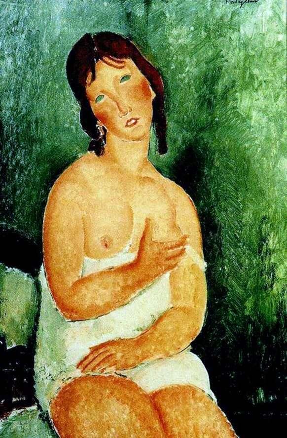 裸体   Amedeo Modigliani