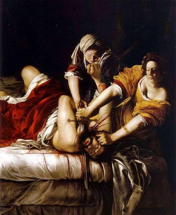 朱迪思斩首Holofernes   Artemisia Gentileschi