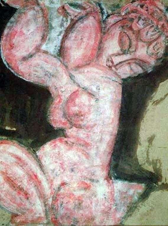Nude Caryatid   Amedeo Modigliani