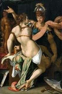 Circe和Odyssey   Bartholomeus Spranger