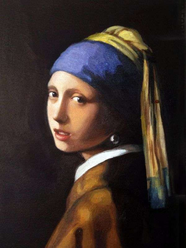 珍珠耳环的女孩   Jan Vermeer