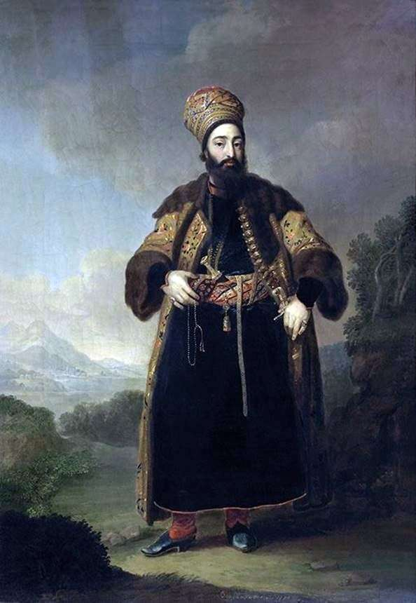 Murtazy Kuli Khan的肖像   弗拉基米尔Borovikovsky