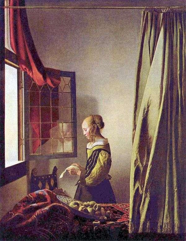 读信的女孩在开窗口   Jan Vermeer