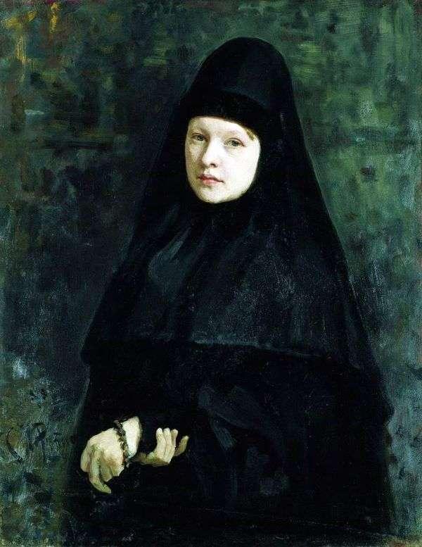 修女   伊利亚 列宾