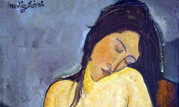 坐着的裸体   Amedeo Modigliani