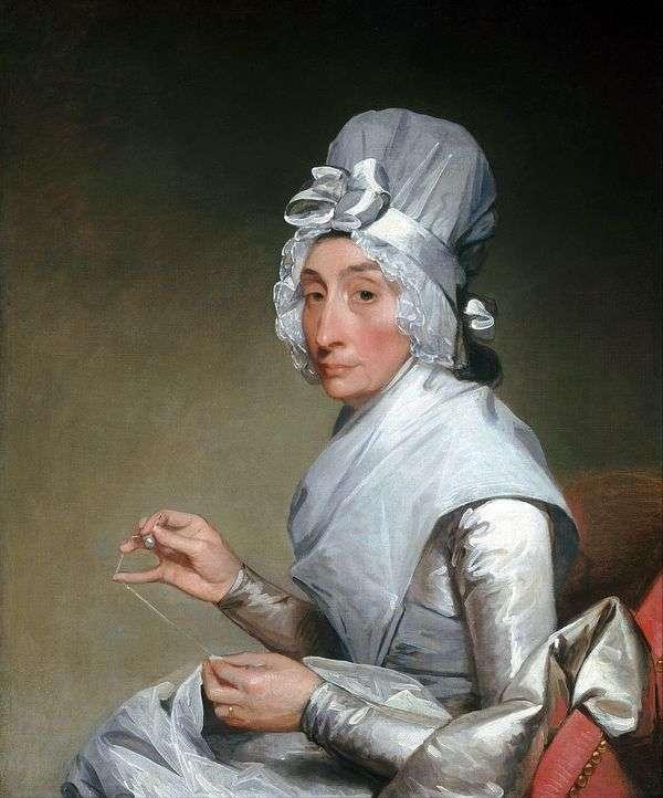 理查德耶茨夫人的肖像   吉尔伯特斯图尔特