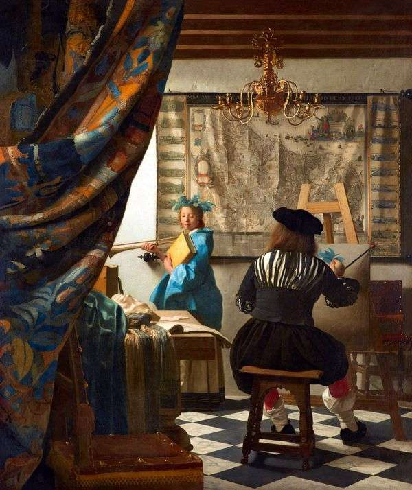 绘画艺术   Jan Vermeer