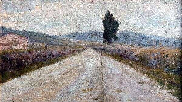 托斯卡纳路   Amedeo Modigliani