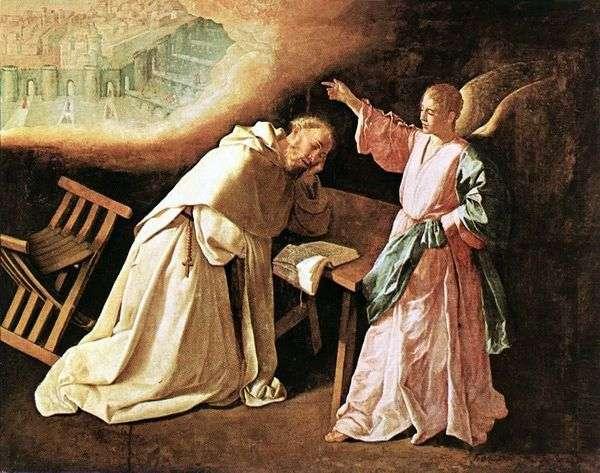 Sv。的愿景。Petra Nolasco   Francisco de Zurbaran