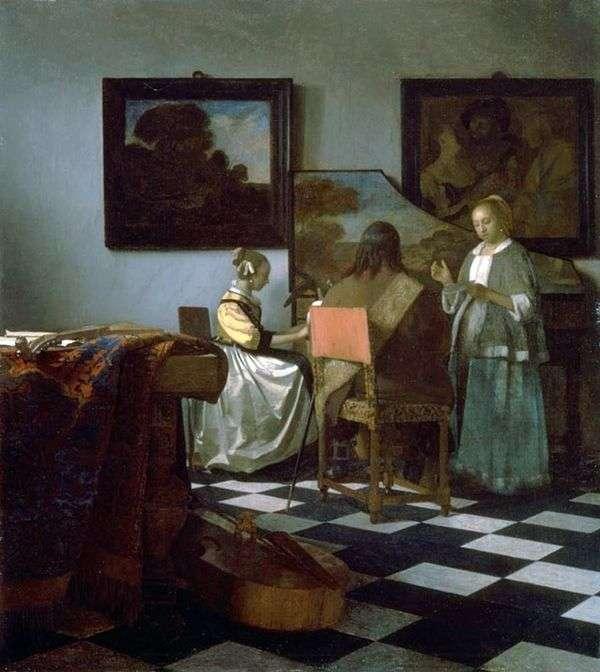 音乐会   Jan Vermeer