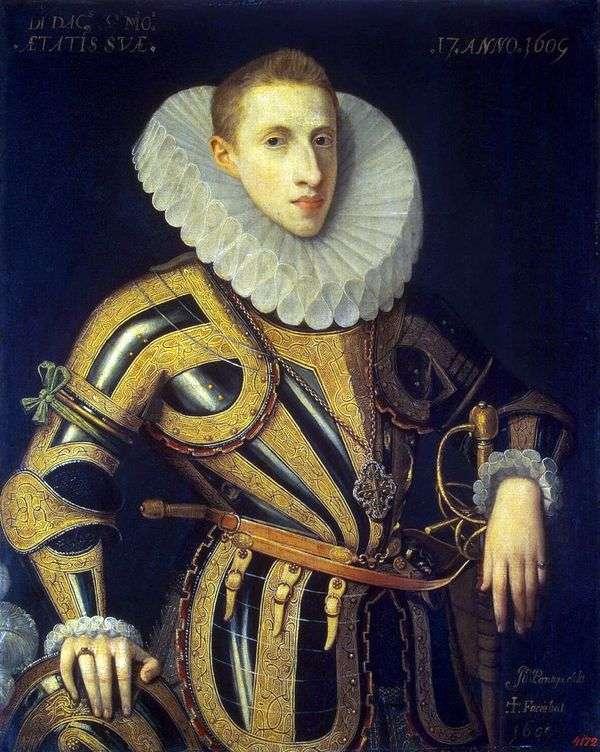 Diego de Villamayor   Juan Pantoja de la Cruz的肖像