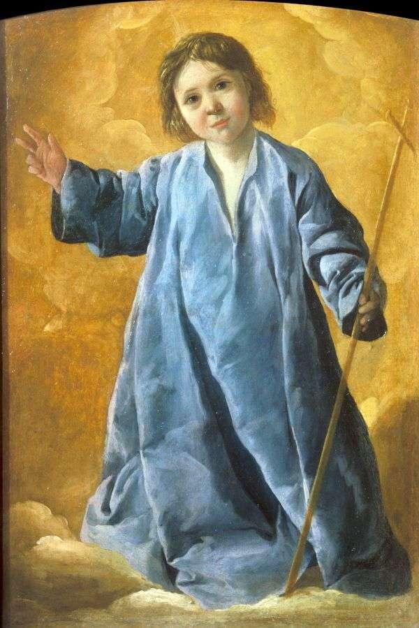 宝贝基督   Francisco de Zurbaran