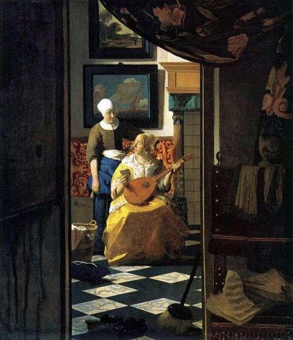 爱消息   Jan Vermeer
