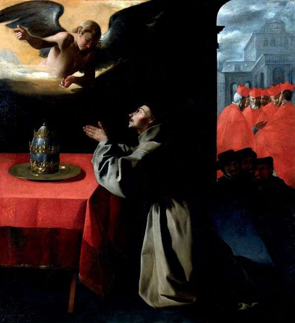 St. Bonaventure的祈祷   Francisco de Zurbaran