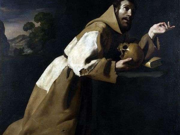 圣弗朗西斯的祈祷   弗朗西斯科de Zurbaran