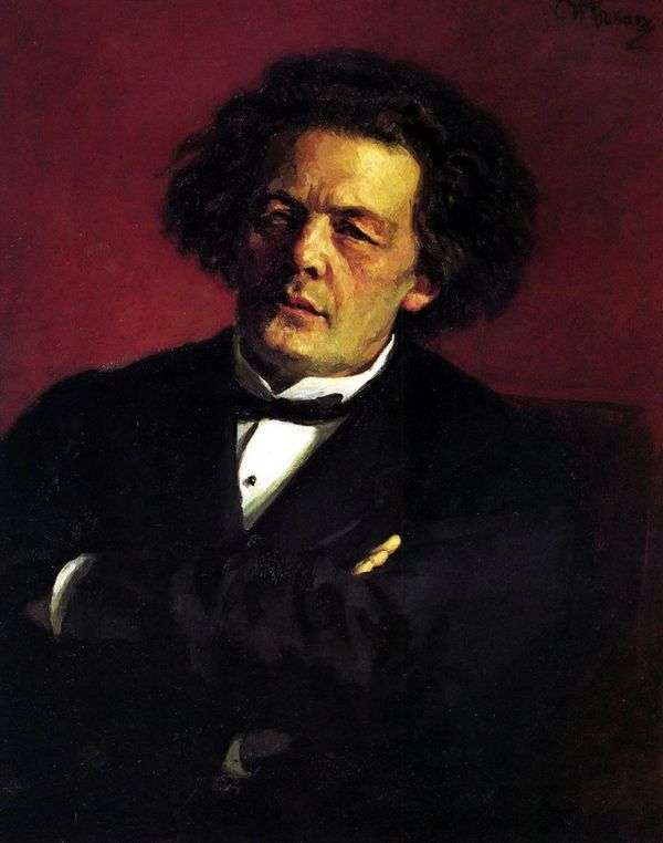 A. G. Rubinstein的肖像   伊利亚 列宾