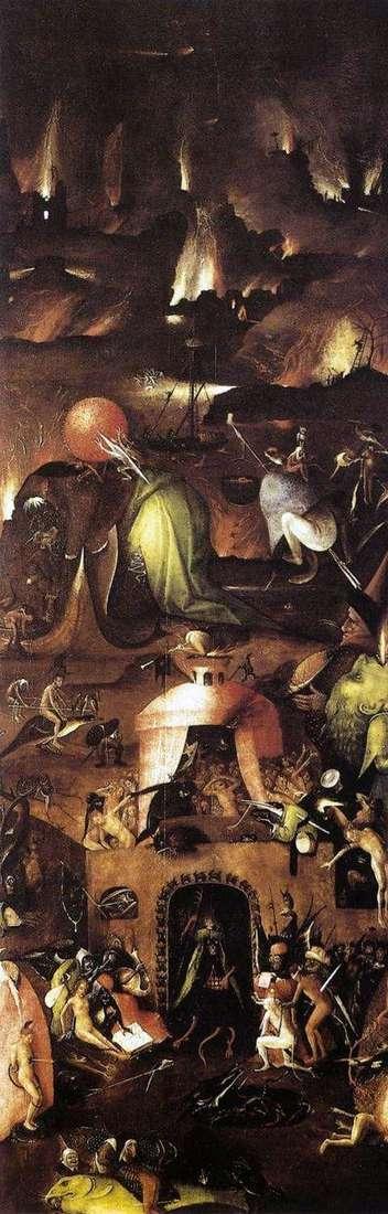 地狱。右撇子祭坛最后审判   Hieronymus Bosch