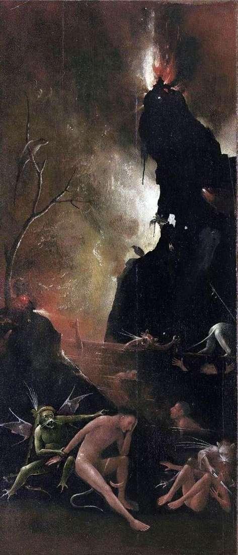 地狱之河,黑社会的愿景   Hieronymus Bosch