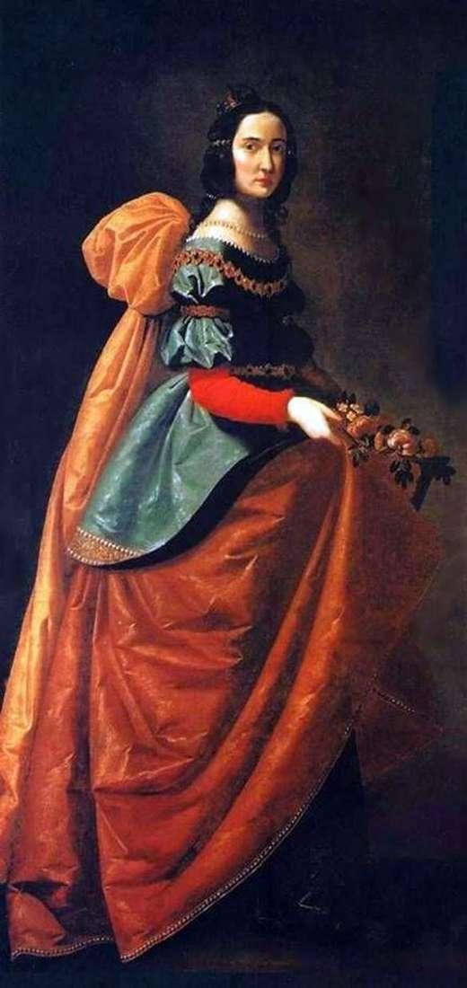 匈牙利的圣伊丽莎白   弗朗西斯科de Zurbaran