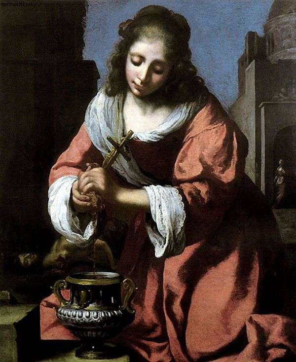Holy Prakseda   Jan Vermeer