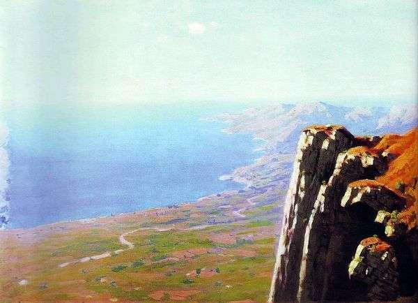 与岩石的海岸   Arkhip Kuindzhi