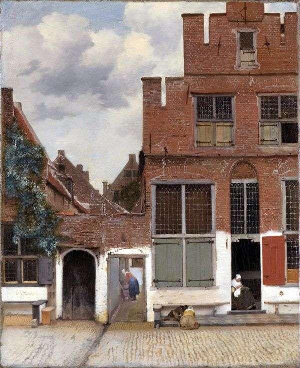 代尔夫特街   Jan Vermeer