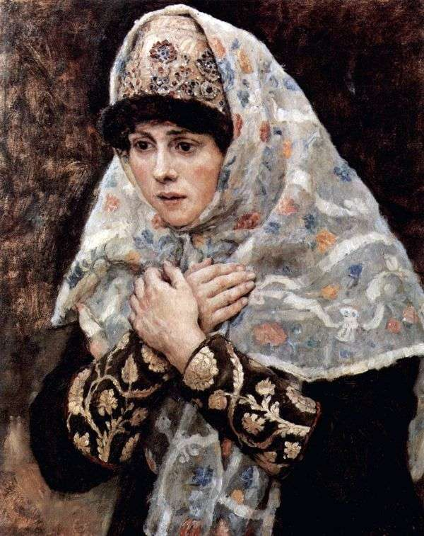 Boyar女儿   瓦西里苏里科夫