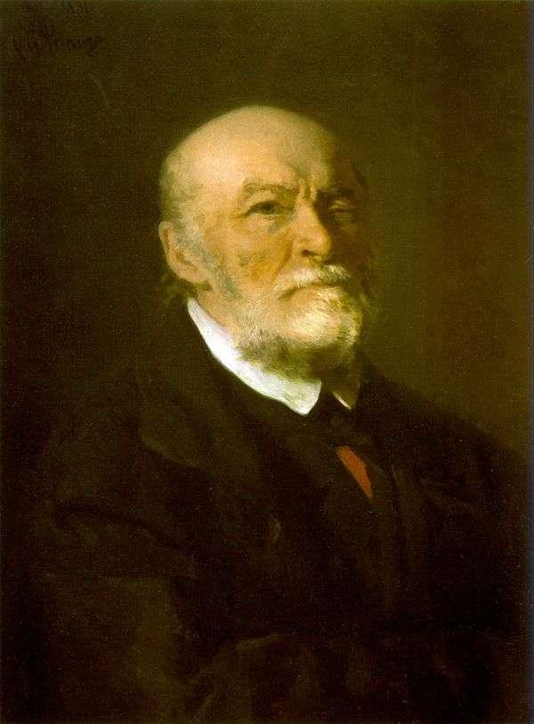 N. I. Pirogov的肖像   伊利亚 列宾