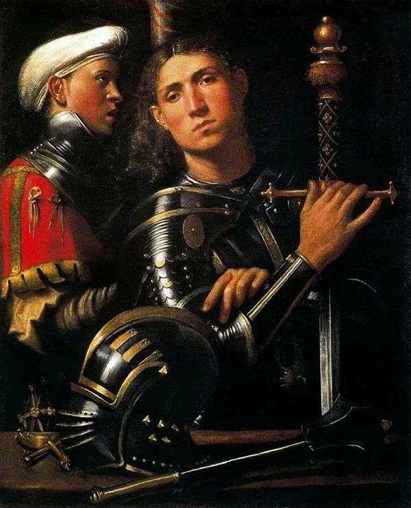 战士与他的乡绅   乔尔乔内