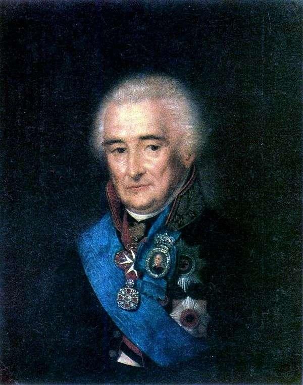 P. V. Lopukhin的肖像   Stepan Schukin