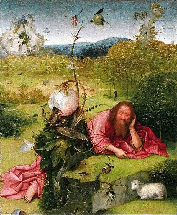 荒野中的施洗约翰   Hieronymus Bosch