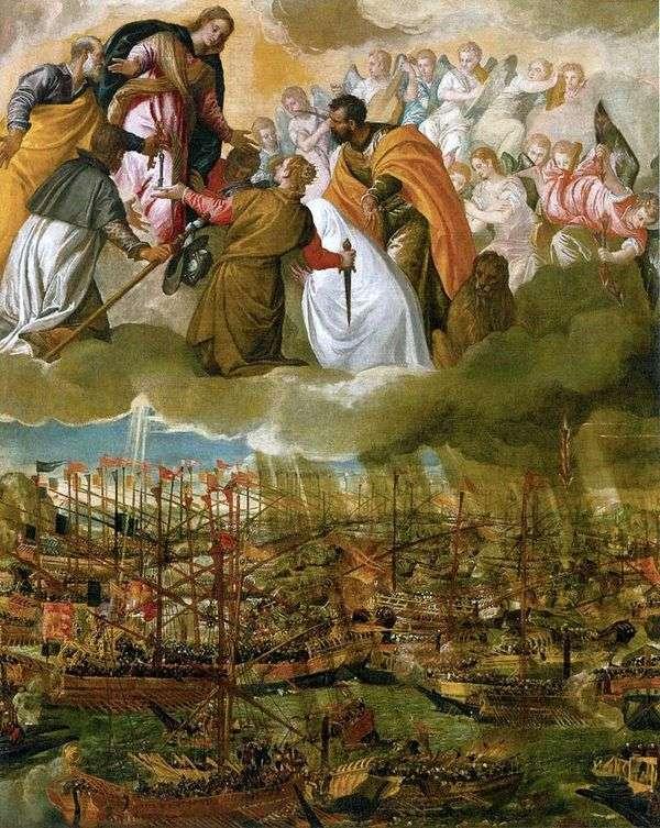 Lepanto战役的寓言   Paolo Veronese