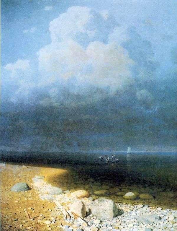 拉多加湖   Arkhip Kuinji