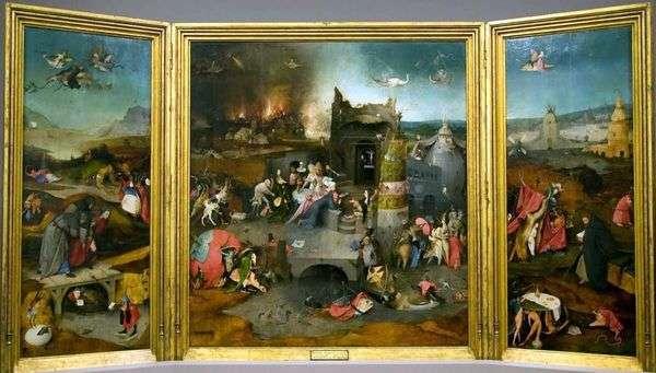 圣安东尼的诱惑   Hieronymus Bosch
