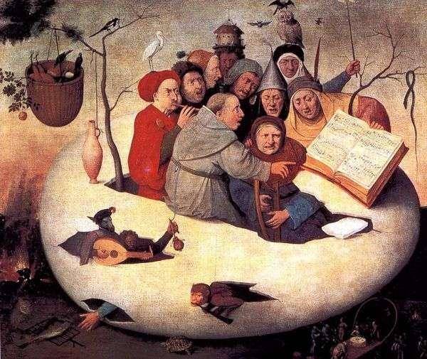 蛋音乐会   Hieronymus Bosch
