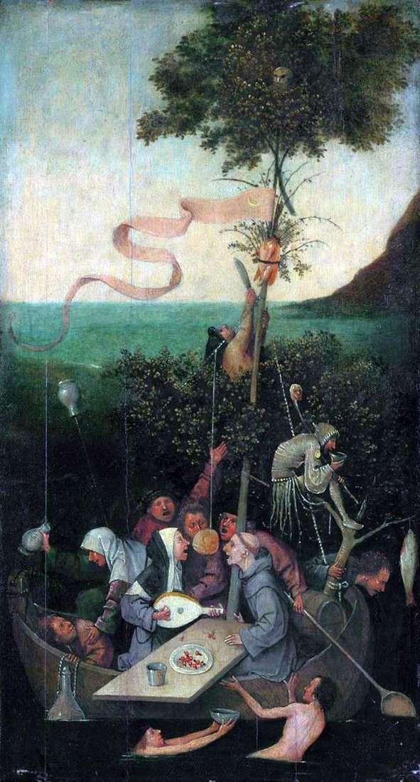 愚人船   Hieronymus Bosch